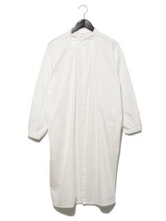 ポプリンロングシャツ