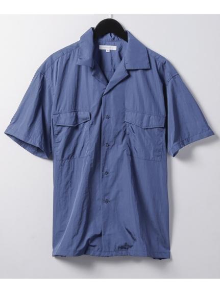 CIAOPANIC (チャオパニック) サファリシャツ ブル-