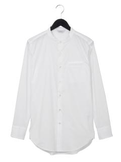 スタンドカラードレスシャツ