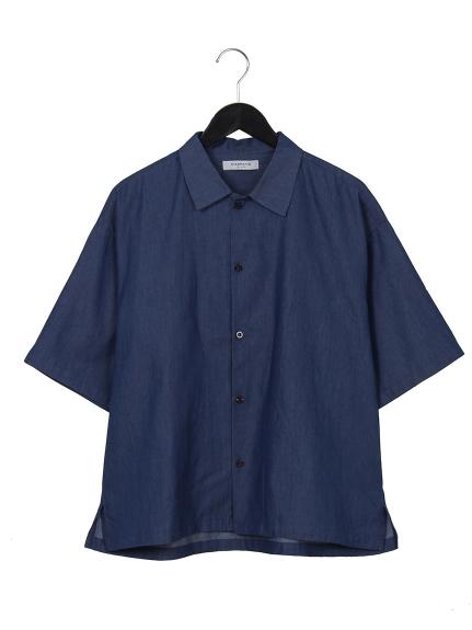 67%OFF CIAOPANIC (チャオパニック) シャンブレーシャツ インディゴ