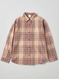 綿テンセルチェックシャツ