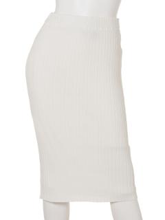 ・Vis/Nyワイドリブタイトスカート