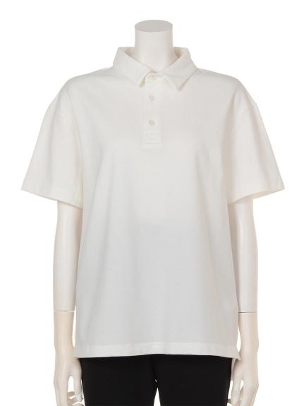 COLONY 2139 (コロニートゥーワンスリーナイン) ・ストレッチカノコポロシャツ ホワイト