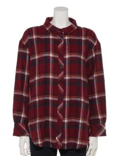 ・T/Cビエラ先染チェック柄3WAYシャツ