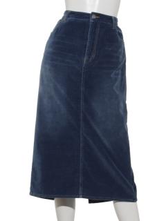 別珍ストレッチ5ポケットスカート