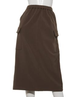 裏フリースウォームストレッチカーゴスカート+