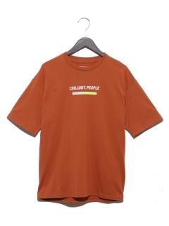 ロゴプリントTシャツ