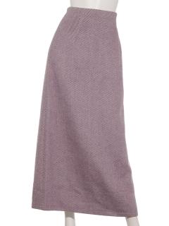 ヘリンボーン柄スカート