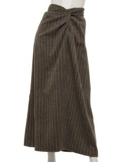 ストライプカイトフレアスカート