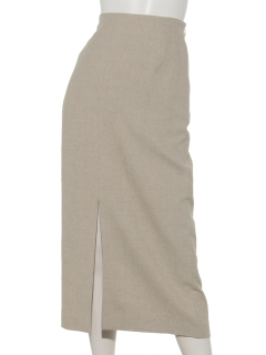 リネンタイトスカート