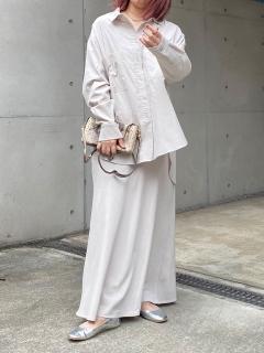 セットアップコールテンスカート