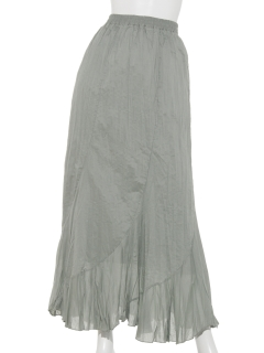 クリンクルマードメイドスカート