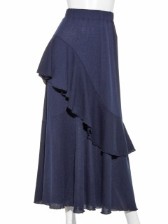 アシメフリルカットスカート