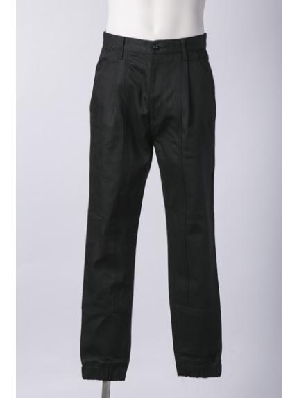 Lui's (ルイス) デニムジョガーパンツ ブラック