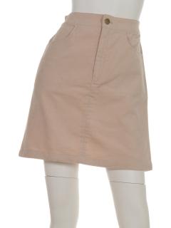 ・別珍台形スカート