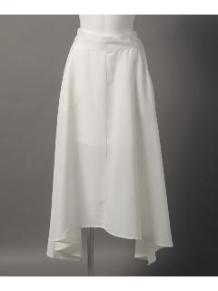 サイドスリットフレアスカート