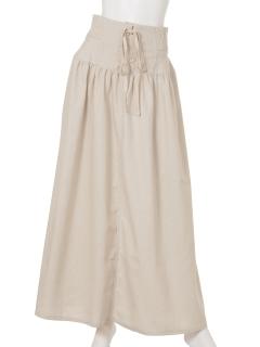 コルセットマキシスカート