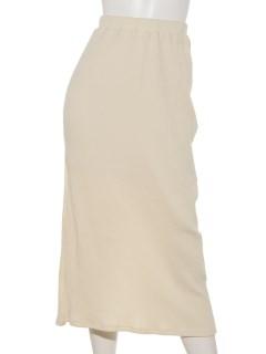 Mハリヌキロングタイトスカート