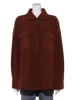 リブシャツジャケット