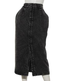 ケミカルデニムタイトスカート