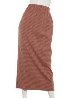 ボーダータイトスカート