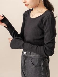 [mline]針抜きショートTシャツ