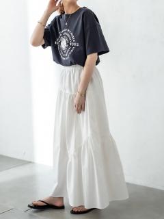 イレギュラーギャザースカート