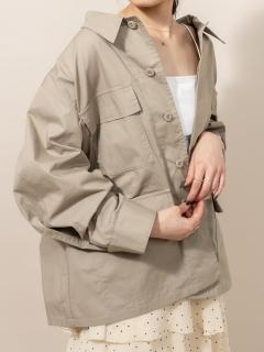 [mline]ミリタリーシャツジャケット