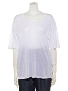 U/NシアーTシャツ
