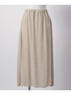 CP.S/ベロアギャザースカート