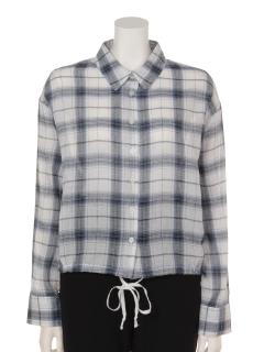 裾ドロストBIGシャツ