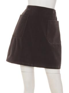 ・ベロア台形スカート