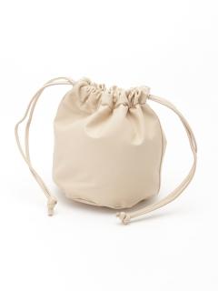 合皮巾着BAG