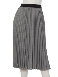 千鳥プリーツスカート