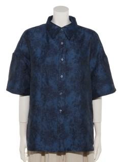 ジャガード織シャツ