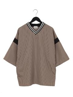 ・チェックホッケーシャツS/S2
