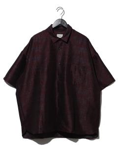 アブストラクトビッグシャツ