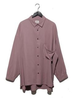 ・モダールポケットデザインシャツ