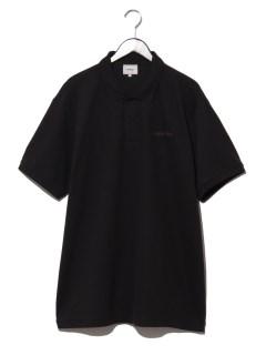 ウェーブロゴポロシャツ