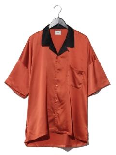 サテンボウリングシャツ
