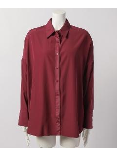 後ろ袖開きオーバーサイズシャツBL