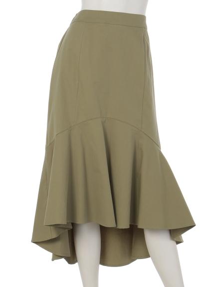 Fiori・tura (フィオリトゥーラ) マーメードラインスカート グリーン