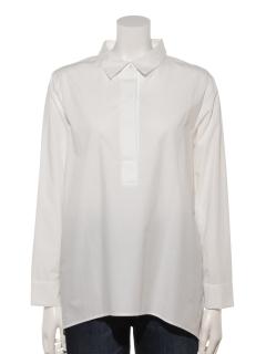 バックプリーツシャツ