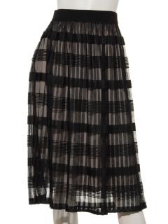 シースループリーツスカート