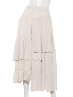 アシメギャザースカート