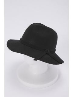 ベルト付きつば広HAT