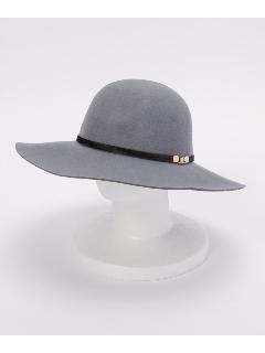 フェルトホースヘア帯付ツバ広HAT