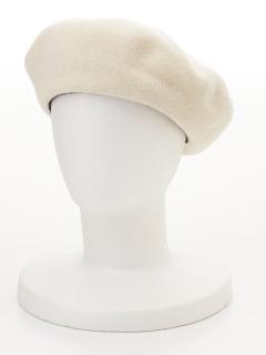 成型ベレー帽
