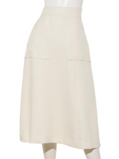 ロングセミタイトスカート