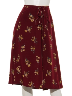 ダブルリボンスカート